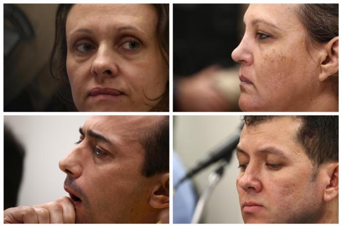 Graciele Ugulini, Edelvânia Wirganovicz, Leandro Boldrini e Evandro Wirganovicz receberam as sentenças nesta sexta-feira