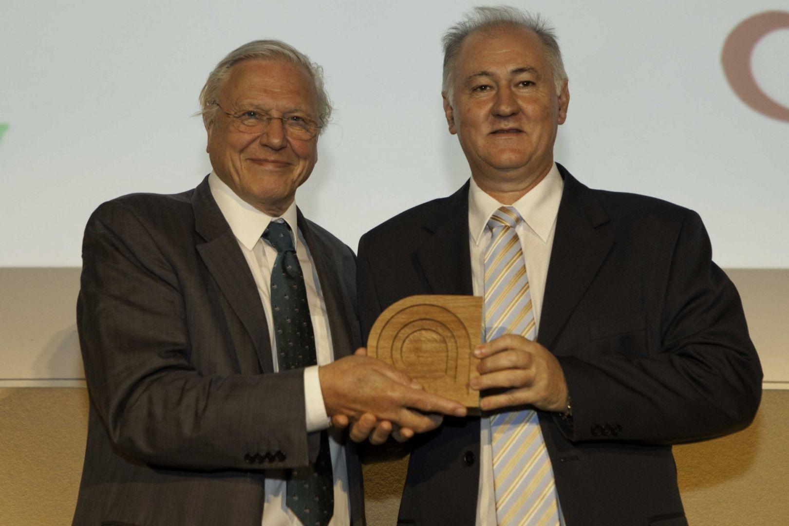 Foto tirada em 01 de julho de 2010 na entrega do Prêmio Internacional de Ecologia Ashden Awards – Londres-Inglaterra